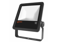 LED Floodlight outdoor schwarz, 10000lm, 4455cd, neutralweiß 4000K, 100W, Abstrahlwinkel: 100°, 230V, IP65