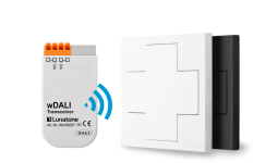 wDALI Switch Cross white