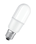 LED Ceram; Parathom Stick75; 10W (75W); warmweiß 2700K; 1050lm; Ra>80; E27; matt, LxD= 114x41mm