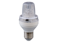LED Strobo FLASH Bulb 1,5W, E27, Blitzer, 230V