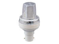 LED Strobo FLASH Bulb 1,5W, B22, Blitzer, 230V