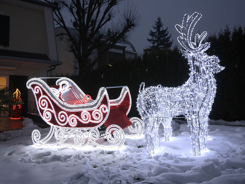 Weihnachtliche 3D-Motive