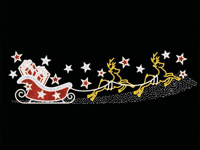 Weihnachtliche Straßenmotive 2D