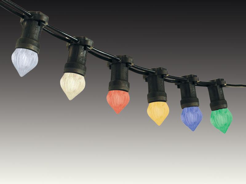 Partylichterketten mit E14-Fassung
