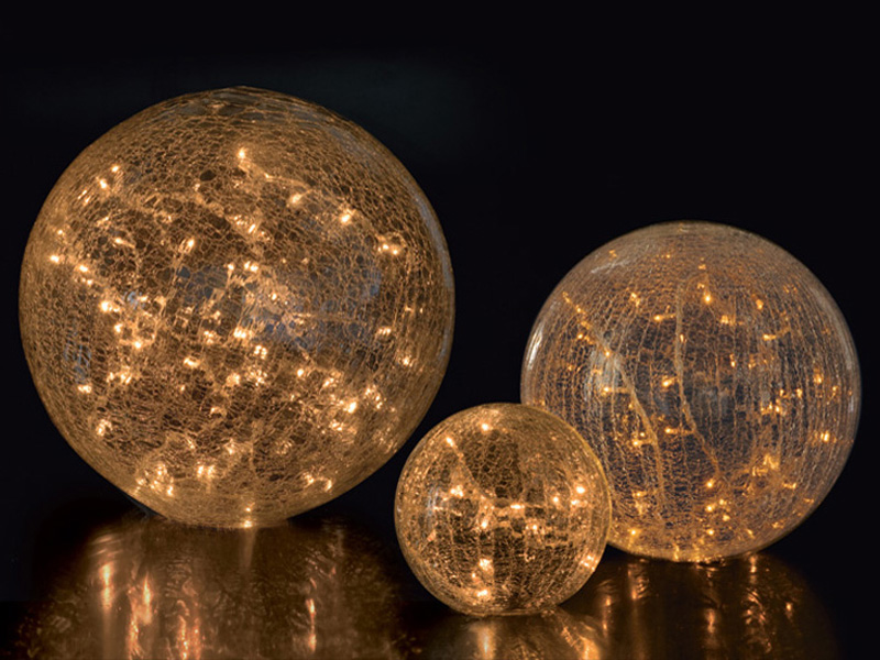 Weihnachtliche Lichtobjekte 3D