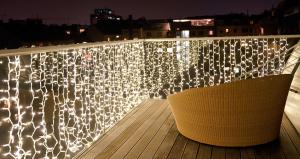 weihnachtsbeleuchtung au en f r balkon my blog. Black Bedroom Furniture Sets. Home Design Ideas