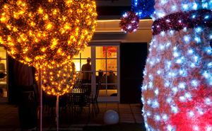 derLESO - Weihnachtsbeleuchtung aus Wien