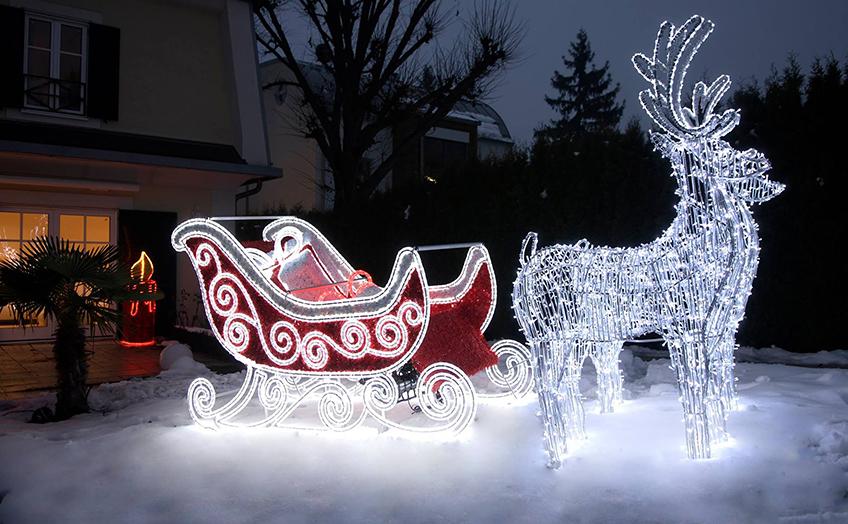 Ideen Weihnachtsbeleuchtung Außen.Stimmungsvolle Weihnachtsbeleuchtung Für Die Schönste Zeit Im Jahr