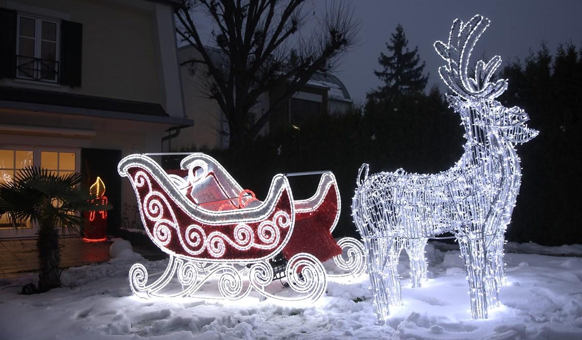 Eine Weihnachtswunderwelt mit 3D Weihnachtsfiguren von Leso