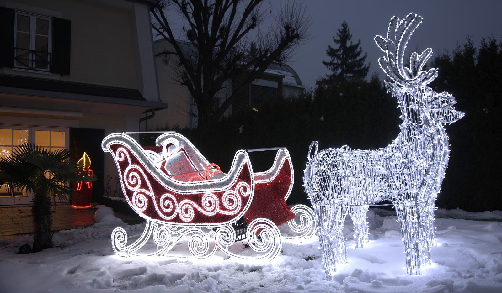 3d Weihnachtsbeleuchtung.Ein Glitzerndes Zuhause Mit Weihnachtsbeleuchtung Von Leso